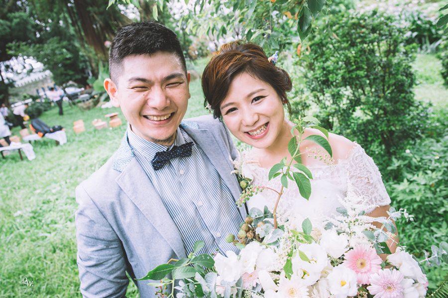 [戶外婚禮]海哥&天笙婚禮@紀州庵文學森林
