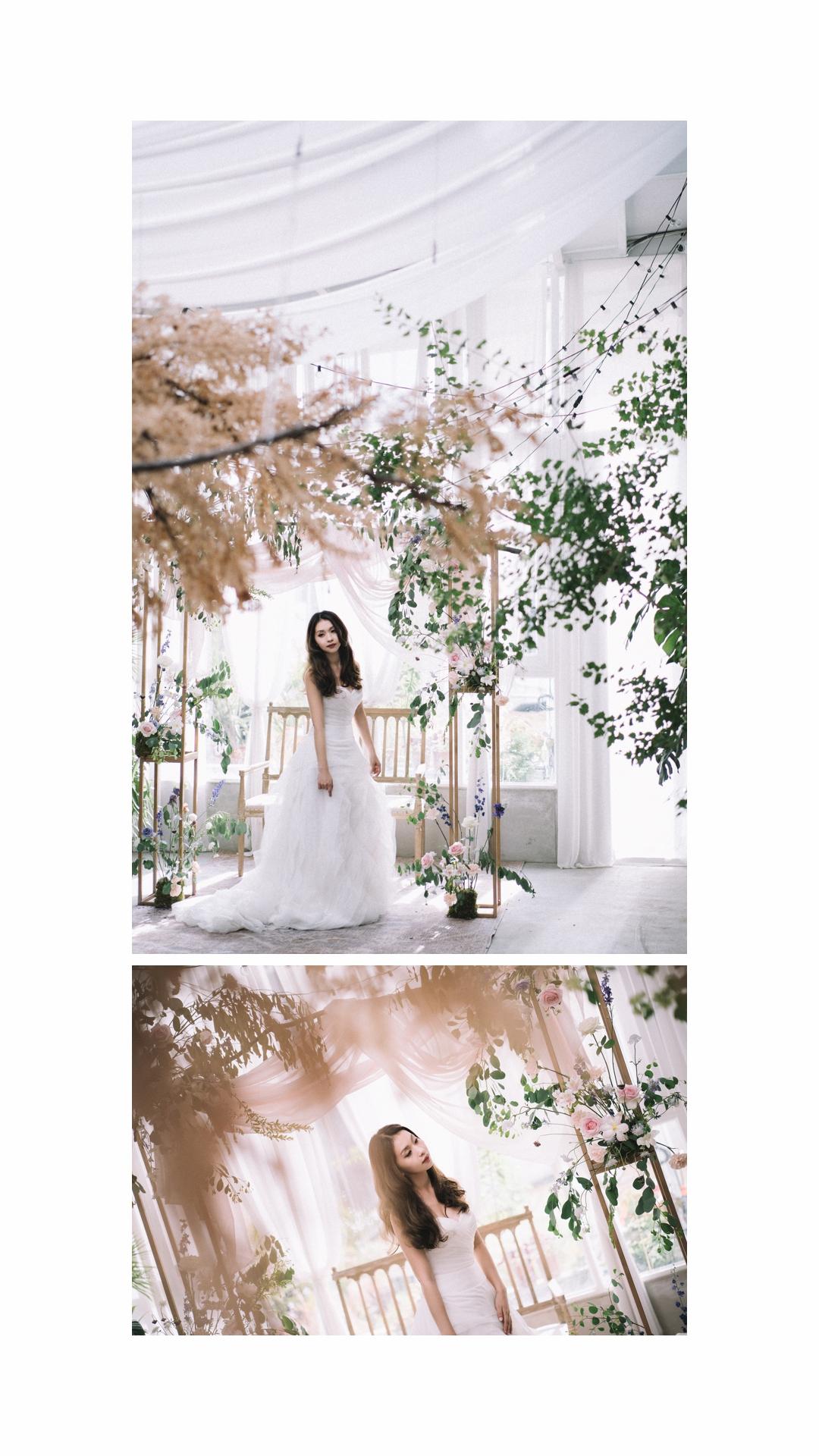 自助婚紗,婚紗,高美濕地,Karen Liu Makeup