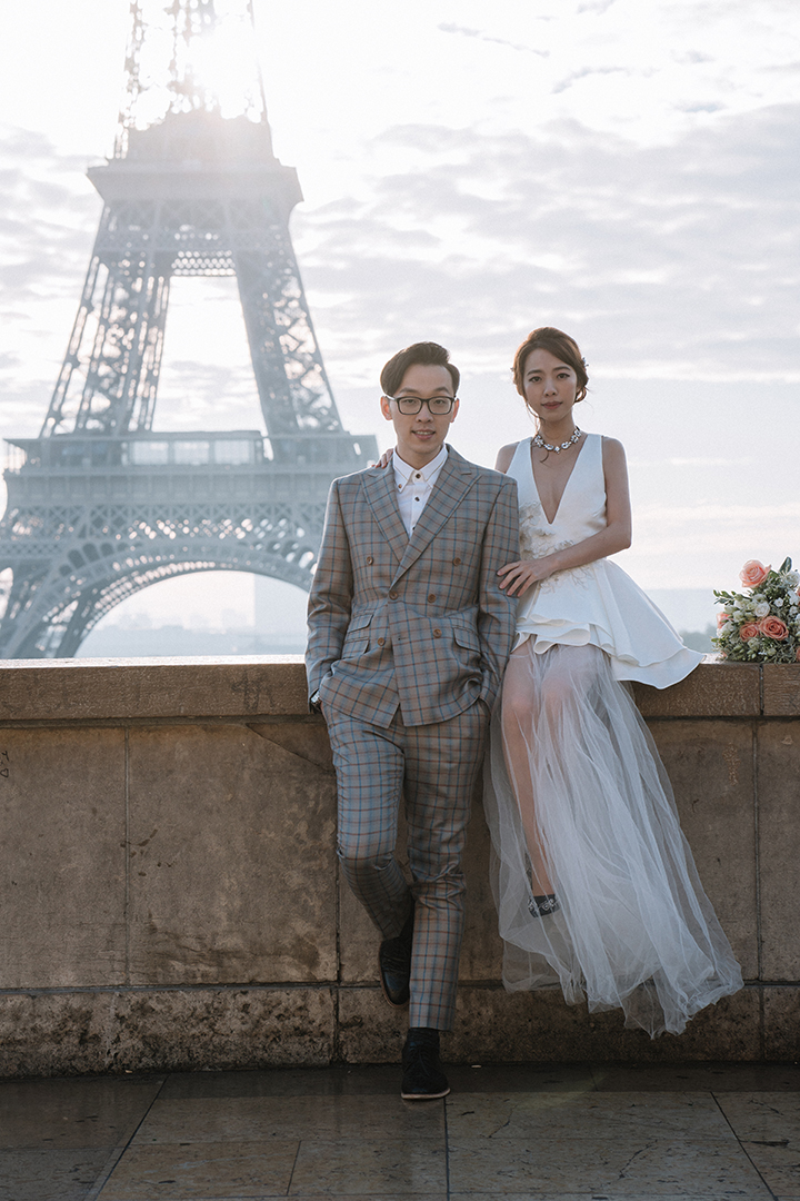 巴黎海外婚紗,巴黎婚紗,自助婚紗,Léa Mademoiselle,海外婚紗
