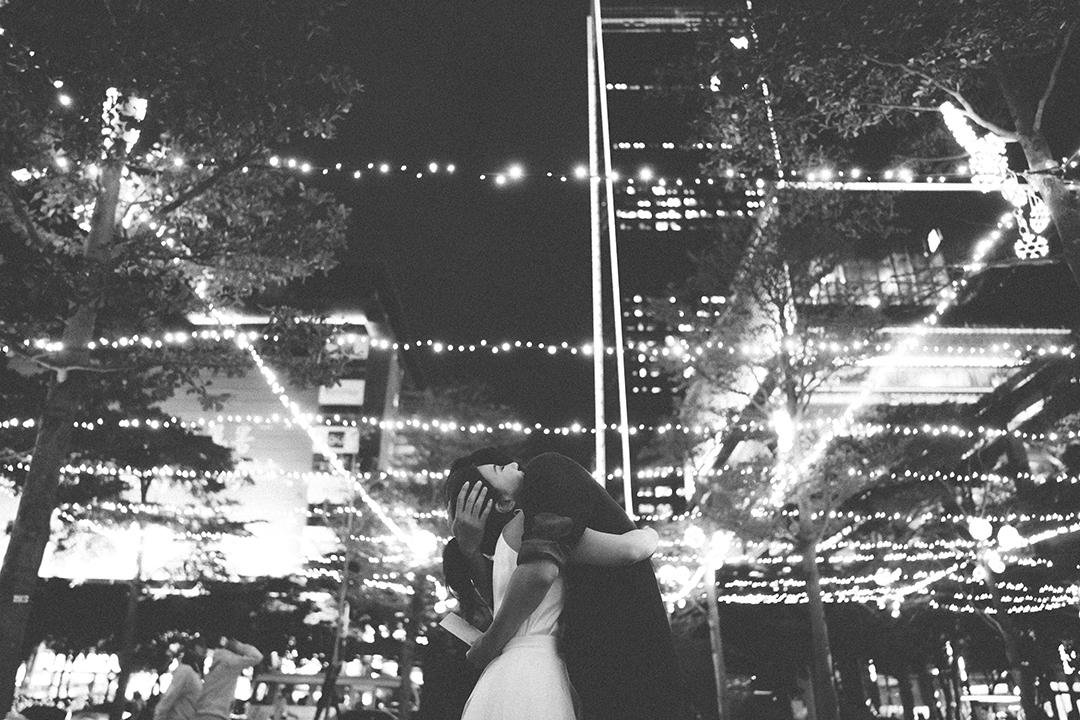 自助婚紗,婚紗,信義威秀,Joanna Wedding 經典婚紗,TJ. HANAYA 緹緁花屋,Jubie Wedding 手繪插畫喜帖設計