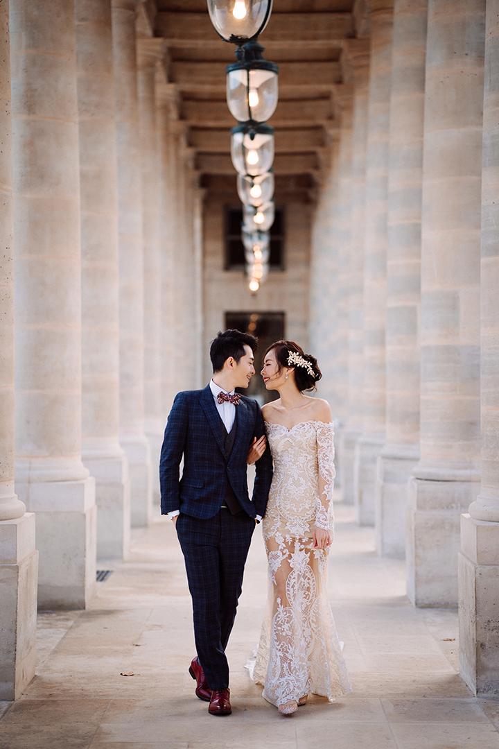 巴黎海外婚紗,博恩,巴黎婚紗,自助婚紗,Léa Mademoiselle,海外婚紗,香堤伊城堡