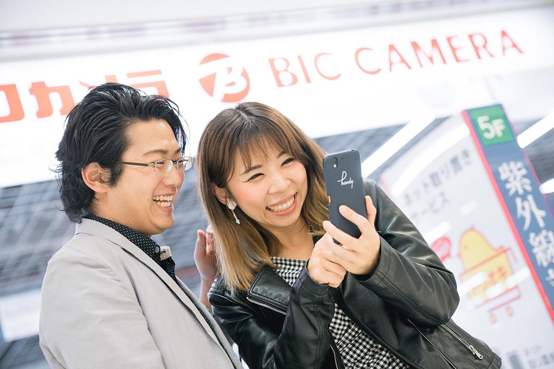 商業攝影,新宿京王,日本,部落客,上田太太,handy,手機